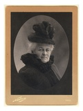 Alice Monet (1844-1911) 1899 (Silver Print) (B/W Photo) Giclee Print by  Nadar