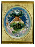 Pan (Oil on Panel) Giclee Print by Daniel Maclise