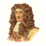 King Charles Ii Giclee Print by  English