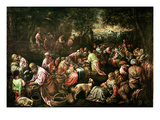 The Feeding of the Five Thousand Giclee Print by Jacopo Bassano