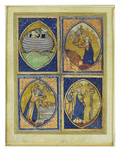 Noah Receiving the White Dove, Moses Receiving the Tables of the Law Giclee Print by  French