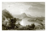 Drachenfels Giclee Print by  English