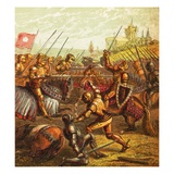 Battle of Tewkesbury Giclee Print by  English