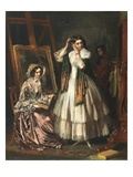 The Eve of the Wedding, 1852 Giclee Print by Jerry Barrett