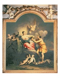 Juno Receives the Head of Argus (Oil) Giclée-tryk af Jacopo Amigoni