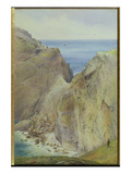 Tintagel, 1887 (W/C with Gouache on Paper) Giclee Print by Arthur Ackland Hunt