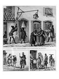 Daily Life in Brazil, from 'Travels in Brazil', Lithographed by Thierry Freres, 1839 (Litho) Giclee Print by Jean Baptiste Debret