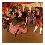 Marcelle Lender Dancing the Bolero in 'Chilperic', 1895 Giclee-trykk av Henri de Toulouse-Lautrec