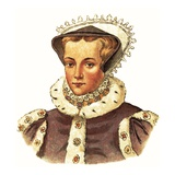 Queen Mary I Giclee Print by  English