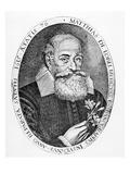 Matthias De L'Obel (Engraving) Giclee Print by Francis Delaram