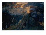 Twilight Fantasies, 1911 (W/C) Giclee Print by Edward Robert Hughes