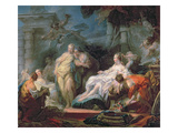 Psyche Showing Her Sisters Her Gifts from Cupid, 1753 (Oil on Canvas) Reproduction procédé giclée par Jean-Honore Fragonard