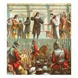 Execution of Charles I Giclee Print by  English