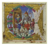 Massacre of the Innocents, Cremone, Late 15th Century (Vellum) Giclee Print by  Italian