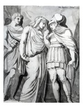 Zethos, Antiope and Amphion, 1770 (Pen, Ink and Wash on Paper) Giclee Print by Henry Fuseli