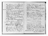 Pages from Monet's Account Book Detailing Names and Addresses (Pen and Ink on Paper) (B/W Photo) Giclee Print by Claude Monet