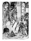 Christ Shown to the People, C.1475-85 (Engraving) Giclee Print by Israhel van, the younger Meckenem