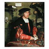 Portrait of the Merchant George Gisze, 1532 (Oil on Panel) Giclee Print by Hans Holbein the Younger
