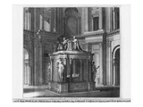 Tomb of Henri II and Catherine De Medicis in the Valois Mausoleum Giclee Print by Jean Baptiste Alexandre Le Blond