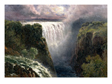 A View of Victoria Falls (Oil on Canvas) Giclee Print by Edward Henry Holder