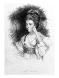 Hester Thrale, Engraved by Samuel Freeman, 1842 (Engraving) Giclee Print by Sir Joshua Reynolds