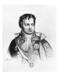 Denis Decres, Minister of Marine and the Colonies (B/W Litho) Giclee Print by Jacques Francois Gauderique Llanta