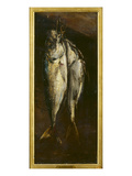 Fish (Oil on Panel) Giclee Print by Antoine Vollon