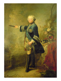 Stanislas Ii August Poniatowski (Oil on Canvas) Giclee Print by Johann Baptist I Lampi