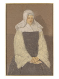 Young Nun (Oil on Canvas) Giclee Print by Gwen John