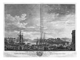 View of the Port of Dieppe, Series of 'Les Ports De France' Giclée-Druck von Claude Joseph Vernet