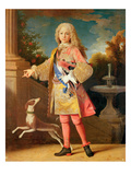 Portrait of Ferdinand of Bourbon, Prince of Asturias, c.1725-35 Giclee Print by Jean Ranc