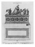 Tomb of Charles Viii at the Basilica Saint-Denis (Etching) Giclee Print by Jean Marot