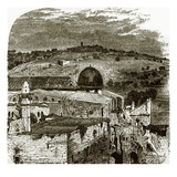 Mount of Olives from Jerusalem Giclee Print by  English
