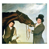 Hambletonian, c.1800 (Detail) Giclee Print by George Stubbs