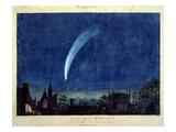 Donati's Comet, 1858 (W/C on Paper) Giclee Print by J. M. W. Turner