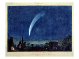 Donati's Comet, 1858 (W/C on Paper) Giclee Print by William Turner