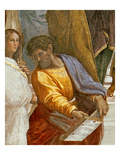 The School of Athens, Detail of a Figure from the Left Hand Side, 1510-11 Reproduction procédé giclée par Raphael