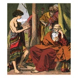 Joseph with Jacob Giclee Print by  English