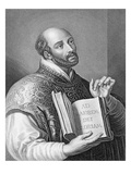 Ignatius Loyola, Engraved by William Holl the Younger, C.1830 (Engraving) Giclee Print by Peter Paul Rubens