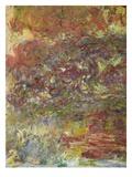 The Japanese Bridge, 1918-24 (Detail) Giclee Print by Claude Monet