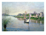 Rhe Seine at Argenteuil, 1872 Giclee Print by Alfred Sisley
