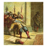 The Murder of Buckingham Giclee Print by  English