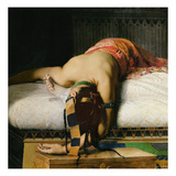 Death of Cleopatra, 1874 (Oil on Canvas) (Detail of 26262) Giclee Print by Jean-Andre Rixens