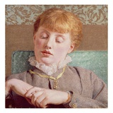 A Girl Giclee Print by Albert Joseph Moore