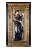 The Cumaean Sibyl, 1877 (Oil on Panel) Premium Giclee Print by Edward Burne-Jones