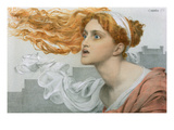 Cassandra (W/C on Paper) Giclee Print by Anthony Frederick Augustus Sandys