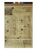 Calendar Page for November, from a Book of Hours, C.1550-60 (Vellum) Giclee Print by  Maitre des Heures de Claude Gouffier
