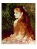Portrait of Mademoiselle Irene Cahen D'Anvers, 1880 Giclee Print by Pierre-Auguste Renoir