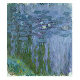 Waterlilies, 1916-19 Giclee Print by Claude Monet