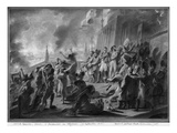Fire of Moscow in September 1812 (Pen and Brown Ink and Grey Wash and Gouache Highlights on Paper) Giclee Print by Baron Antoine Jean Gros